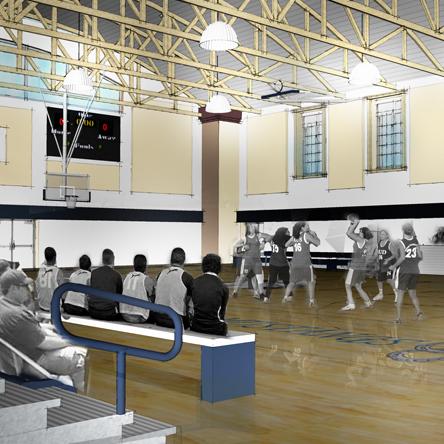 Round Valley High School Gymnasium