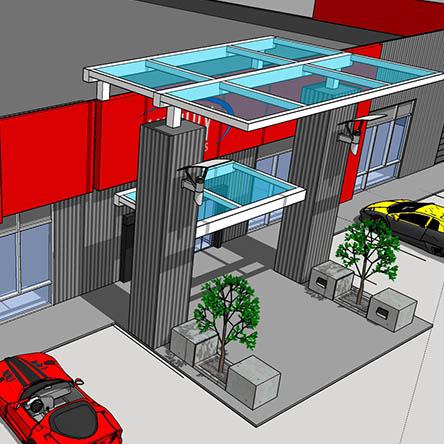 Luxury Motorcars Automotive Dealership