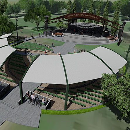 William A. Carroll Land Park Amphitheater Renovation